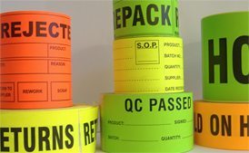 ISO Control Labels